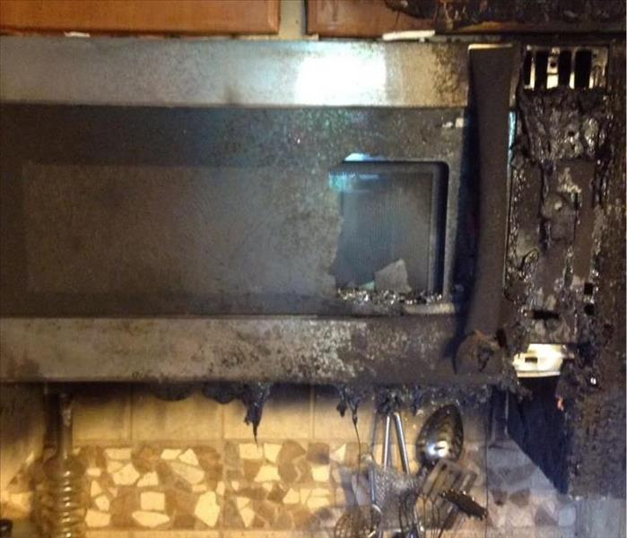 A small kitchen fire in Newberry SC that left a lot of damage