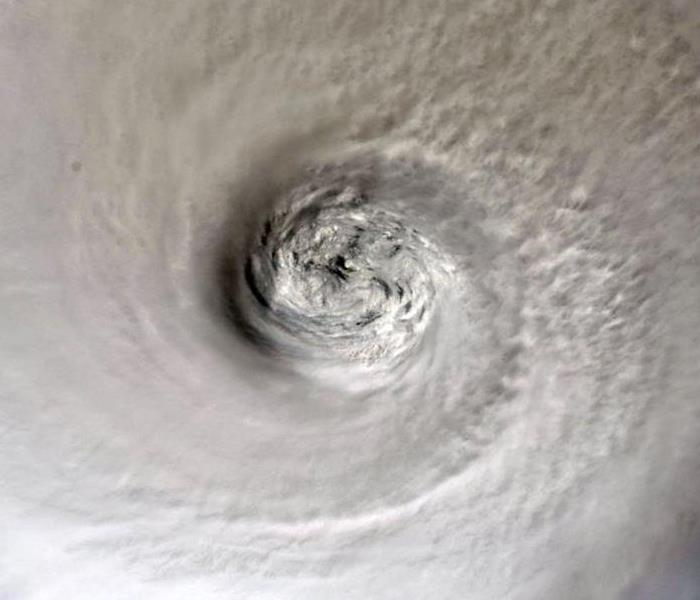 The eye of Hurrican Dorian from the International Space Station more than 200 miles above the earth.