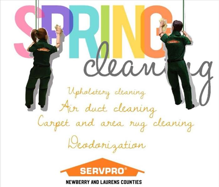 Cleaning Get Spring Clean with SERVPRO