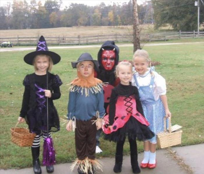Trick or Treaters ready to hit the streets for Candy